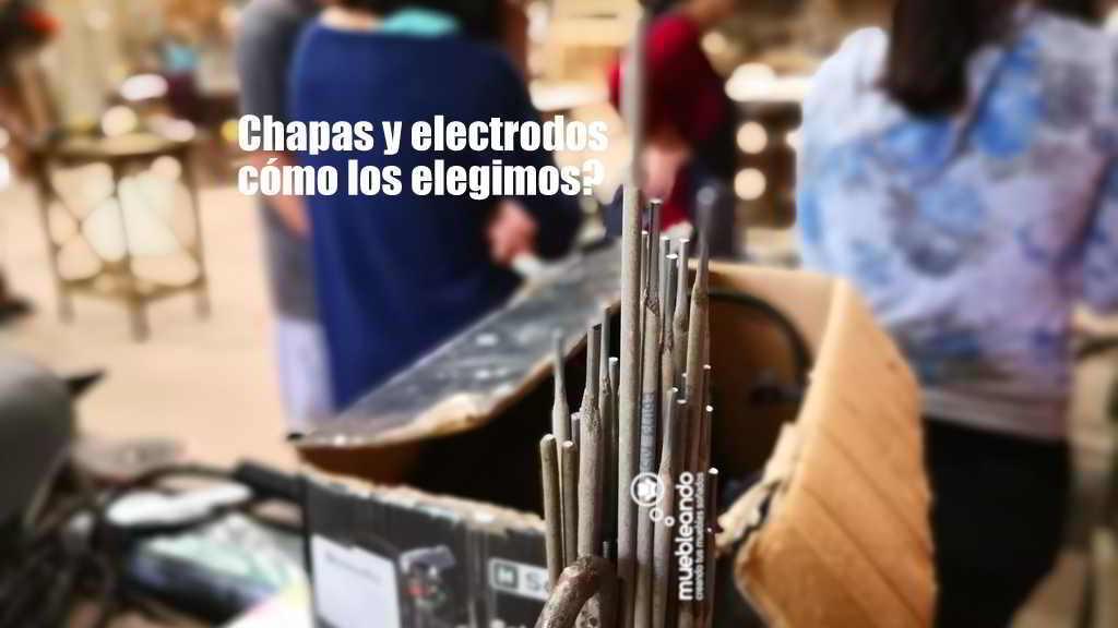 chapas y electrodos