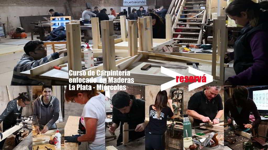 Curso de carpintería en Maderas