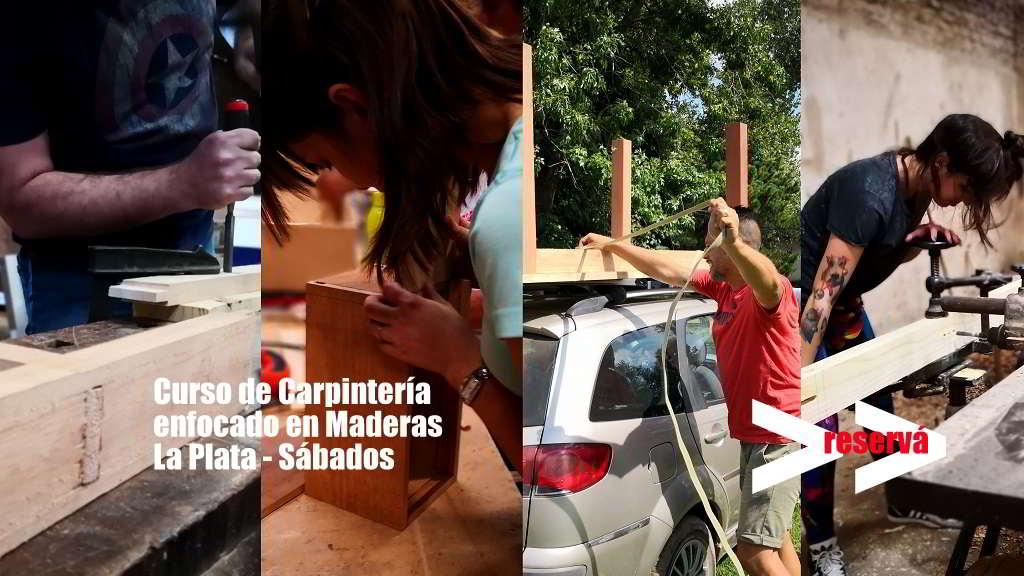 Curso para hacer muebles de madera La Plata sábado