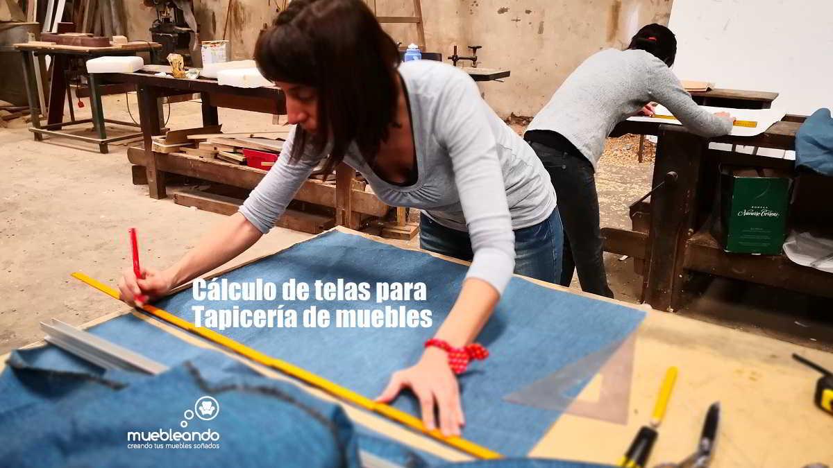 Cálculo de telas para tapicería de muebles
