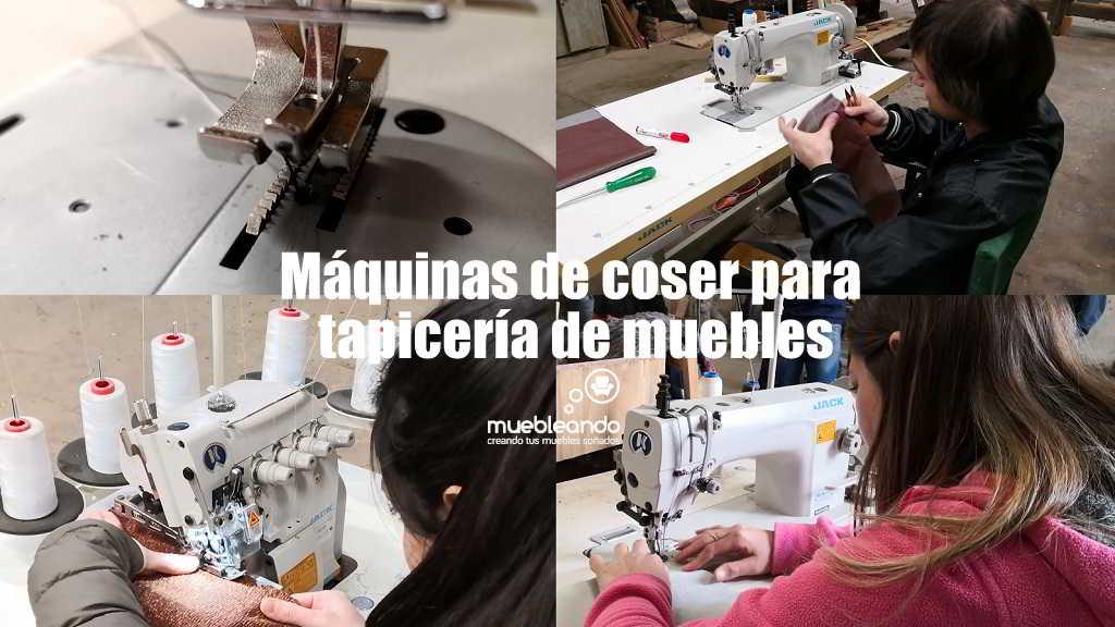 maquinas de coser para tapiceria de muebles
